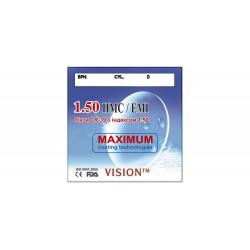 Лінзи Vision CR-39 HMC/EMI...